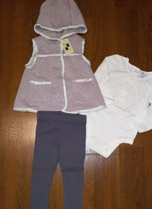 NWT Max Studio Baby 3 Piece Outfit